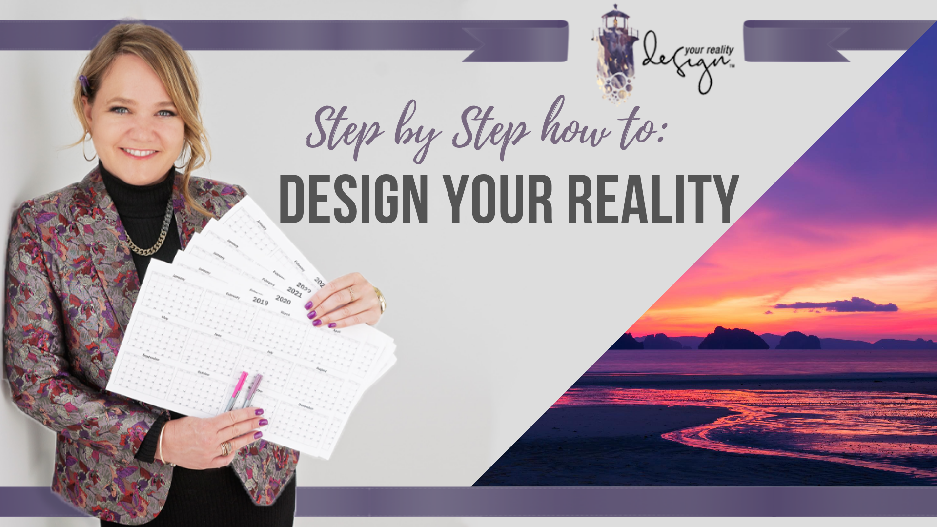 Design Your Reality with Tracy
